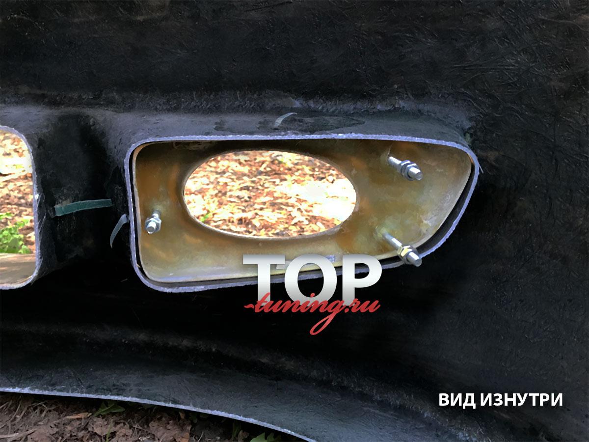 8804 Маски ПТФ переднего бампера Mugen на Honda Accord 7