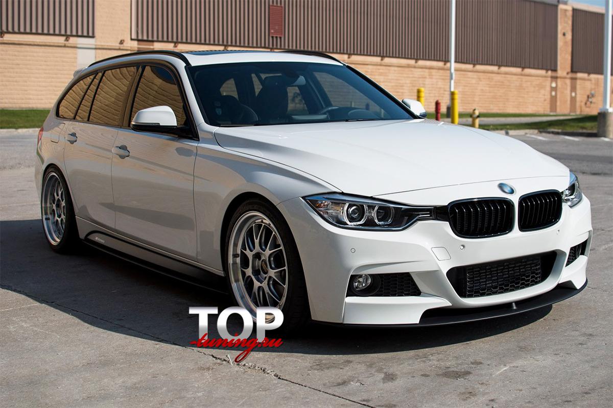 8810 Накладки на пороги (лезвия) Performance на BMW 3 F30
