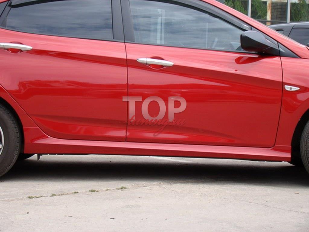 8850 Пороги A`PEX GT на Hyundai Solaris