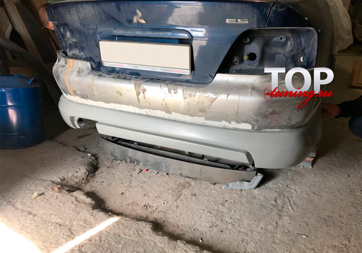 8869 Накладка на задний бампер G-Square на Mitsubishi Galant 8
