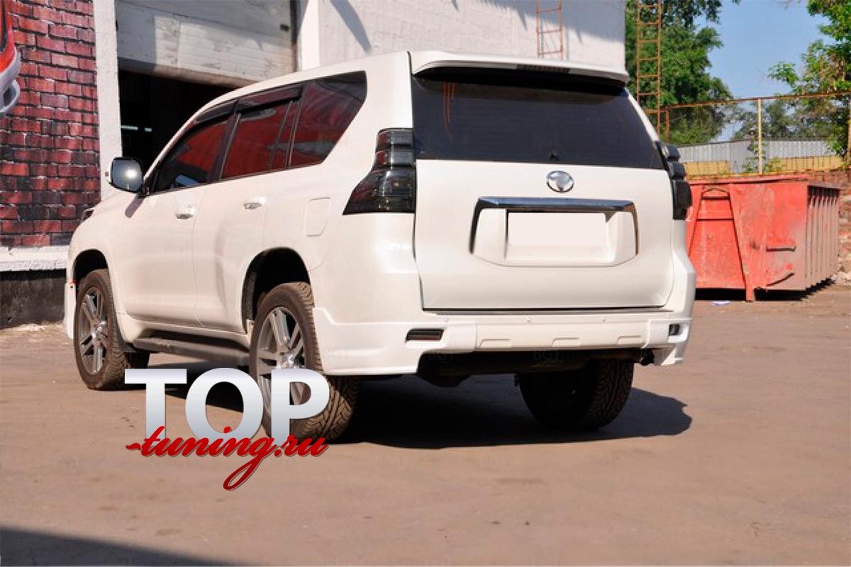 8903 Юбка на задний бампер JAOS на Toyota Land Cruiser Prado 150