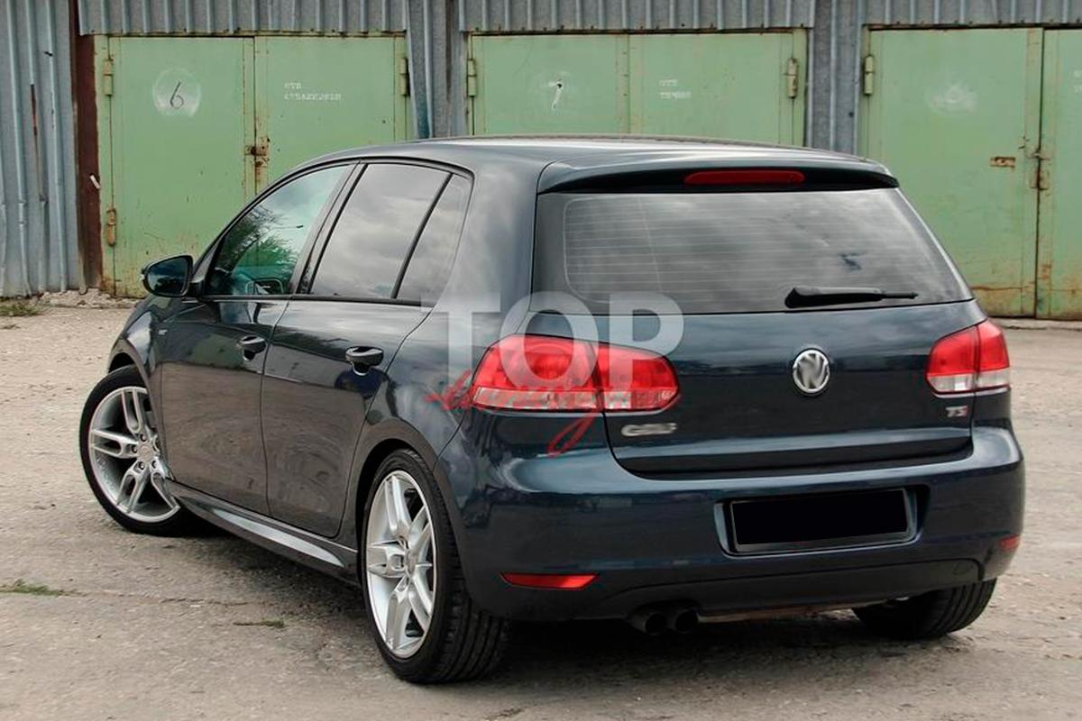 8920 Пороги R-Line на VW Golf 6