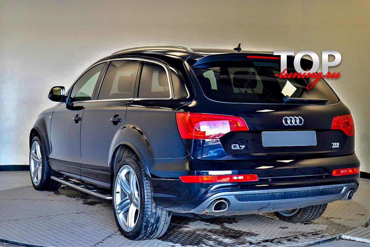 8934 Расширители арок S-Line (ABS) на Audi Q7