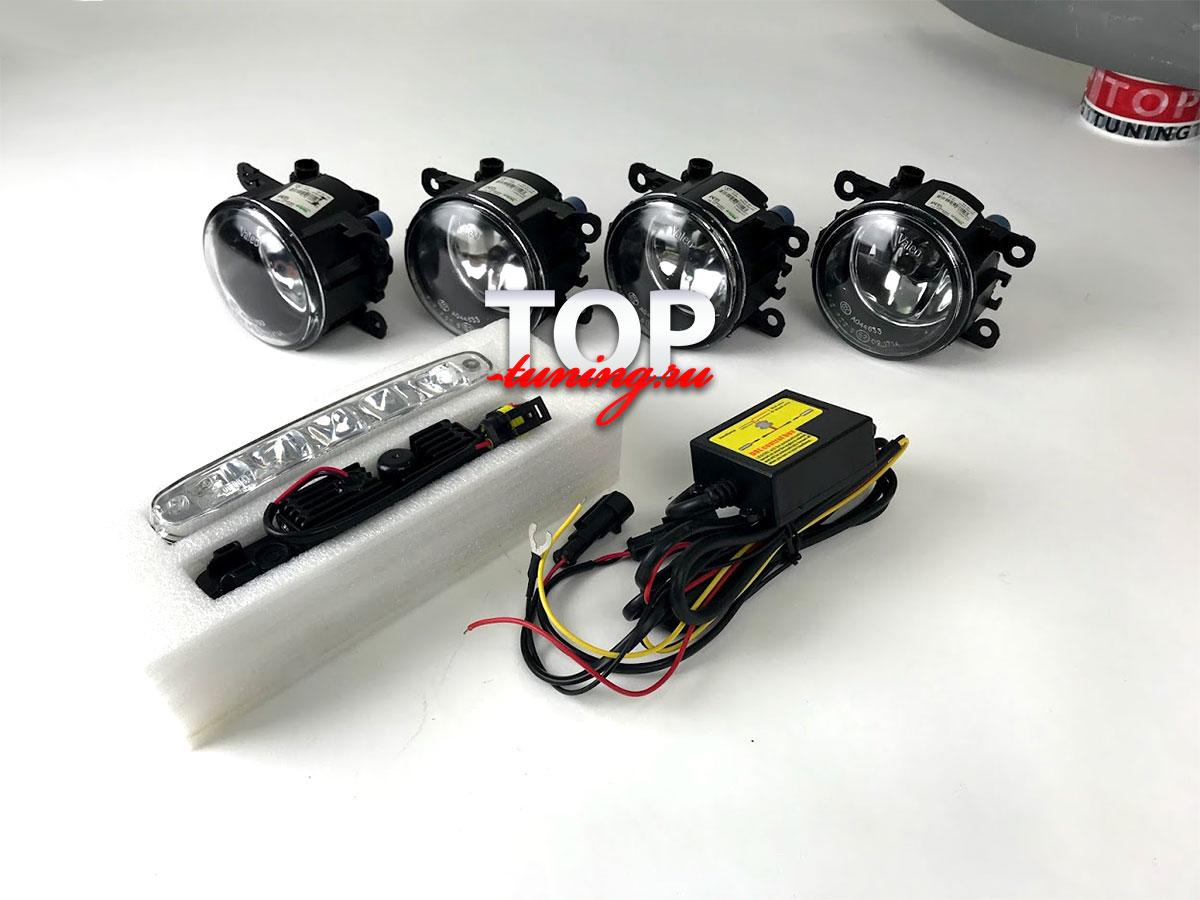 8973 Комплект оптики в передний бампер M'Z SPEED ZEUS на Toyota Land Cruiser 200