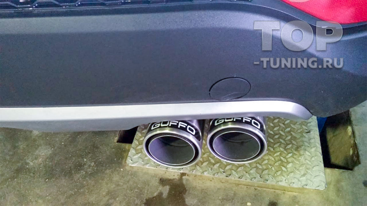 Выхлопная система Remus Guffo на Hyundai Santa Fe 3 (DM)