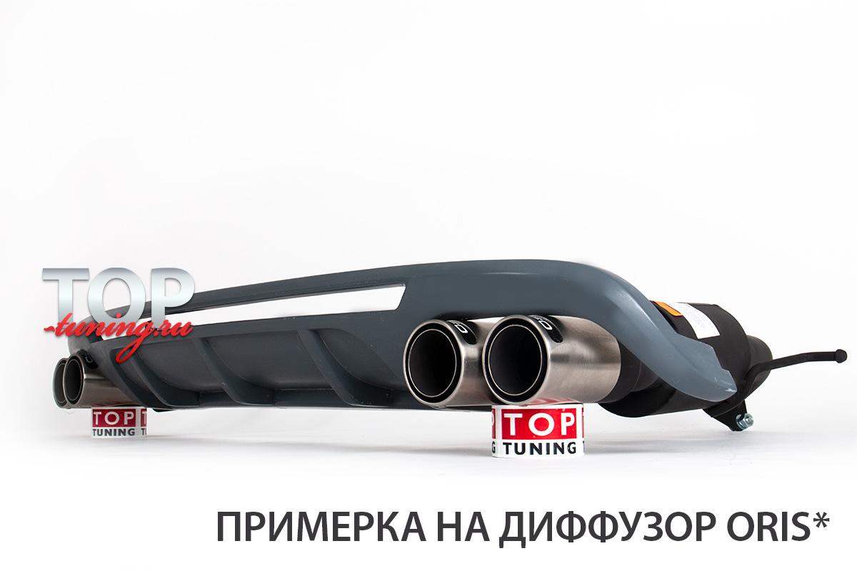 ТЮНИНГ ХЕНДАЙ САНТА-ФЕ 3 ДМ 2012+ ВЫХЛОПНАЯ СИСТЕМА GUFFO С ИМИТАЦИЕЙ РАЗДВОЕННОГО ВЫХЛОПА НЕРЖАВЕЮЩАЯ СТАЛЬ / КАРБОНОВЫЕ ВСТАВКИ / ПРОСТОЙ МОНТАЖ / ОРИГИНАЛ