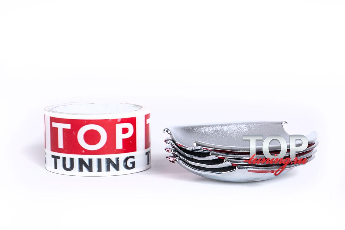 Хромированные накладки под ручки на Ford Focus 2