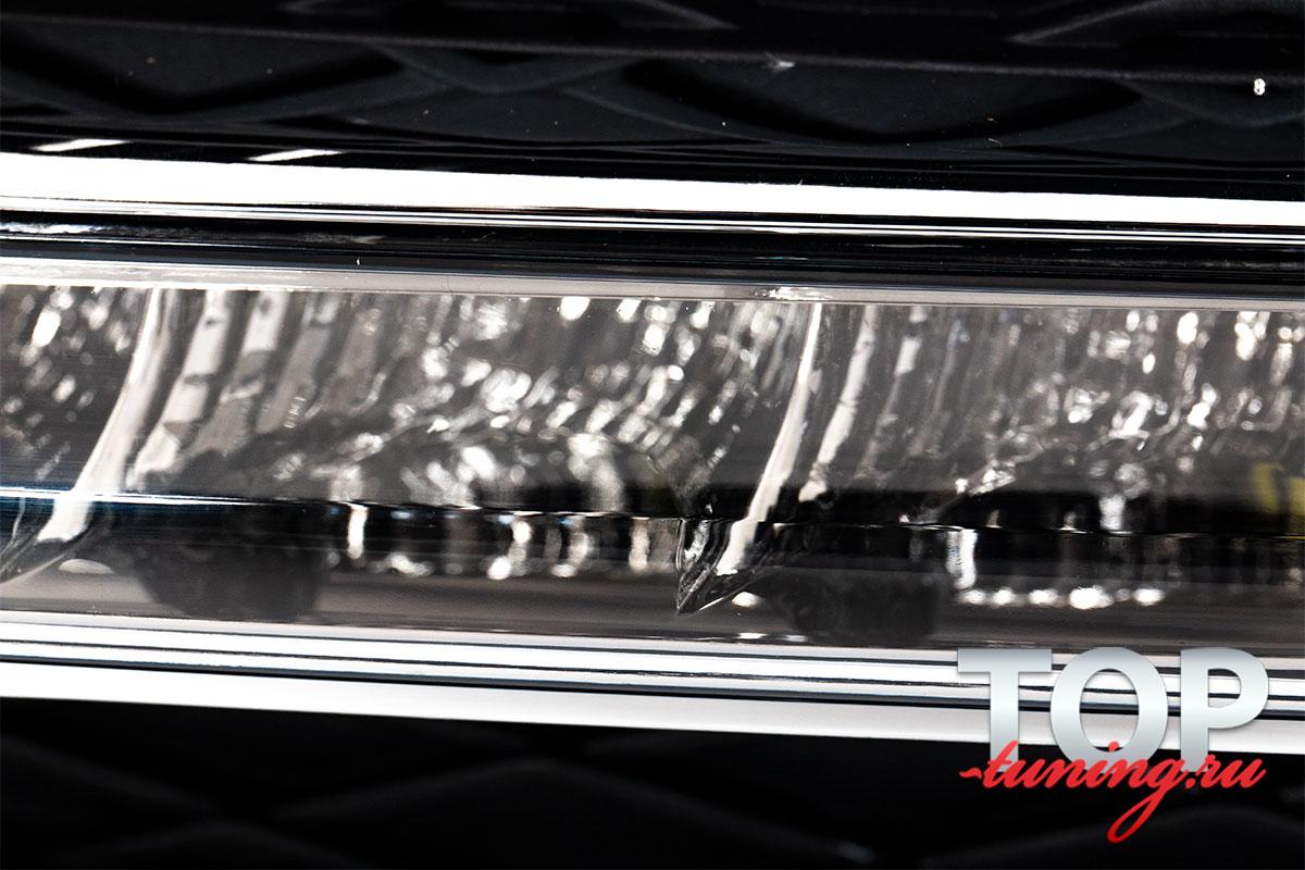 ТЮНИНГ БМВ 3-Й СЕРИИ E90/E91/E92/E93 (FACELIFTED 2009 - 2011) КОМПЛЕКТ ДНЕВНЫХ ХОДОВЫХ ОГНЕЙ LED STAR ПЛАСТИК / КОМПЛЕКТ - 2 ШТ / ПРОСТОЙ МОНТАЖ