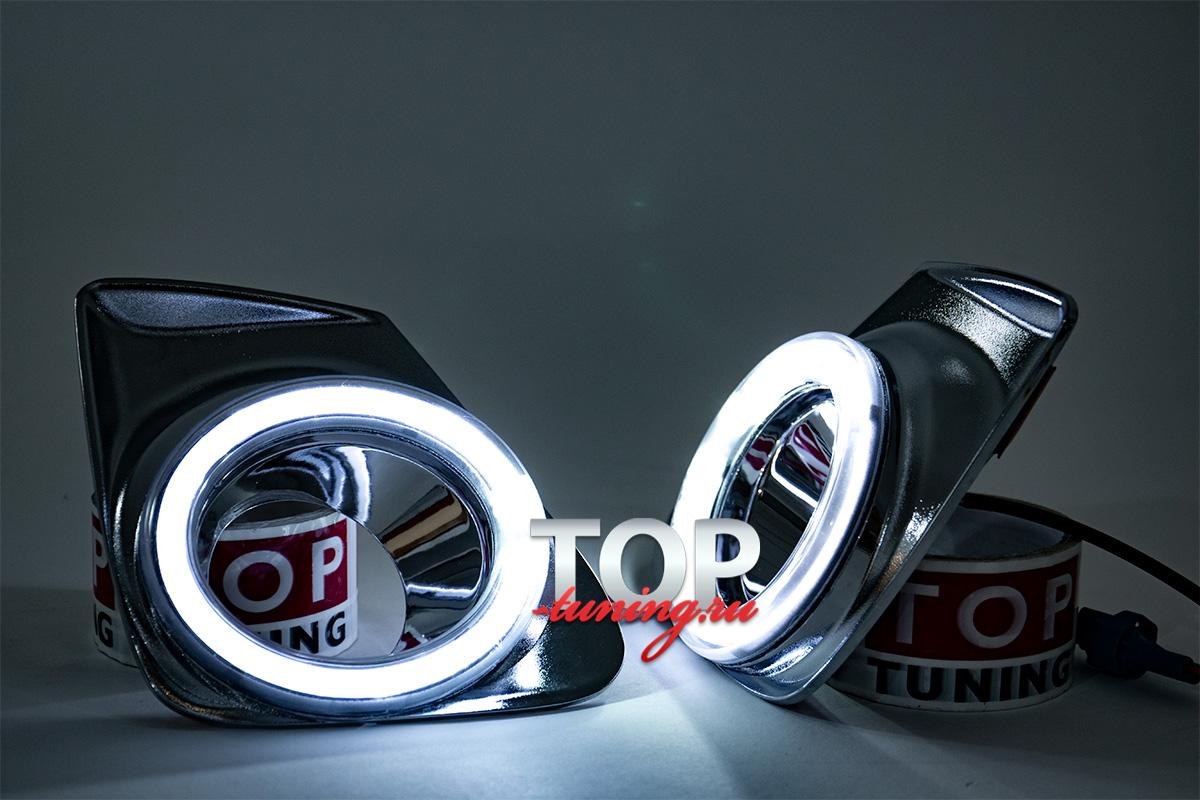 Дневные ходовые огни LED Star на Toyota Corolla E150