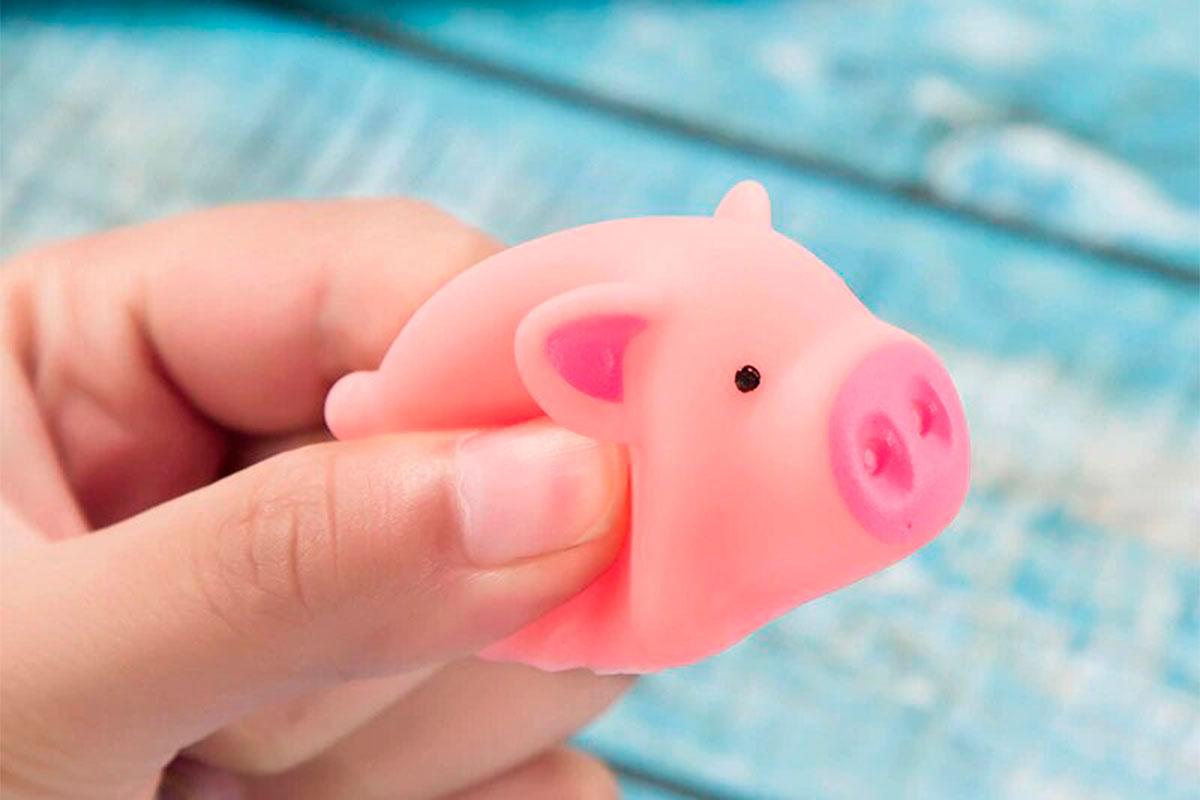 Веселая хрюкающая свинка - мини пиги для семьи и друзей