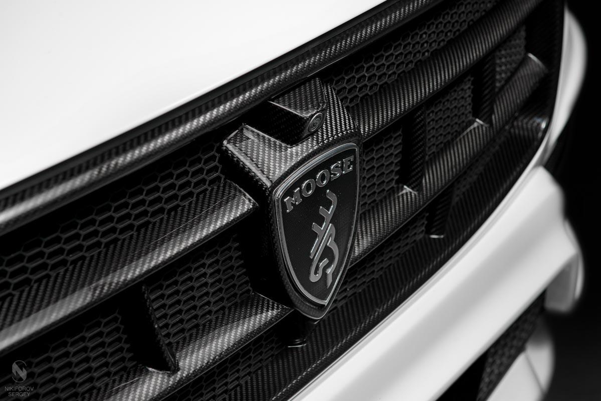 9106 Решетка радиатора Moose Design Carbon на Volvo XC90 II