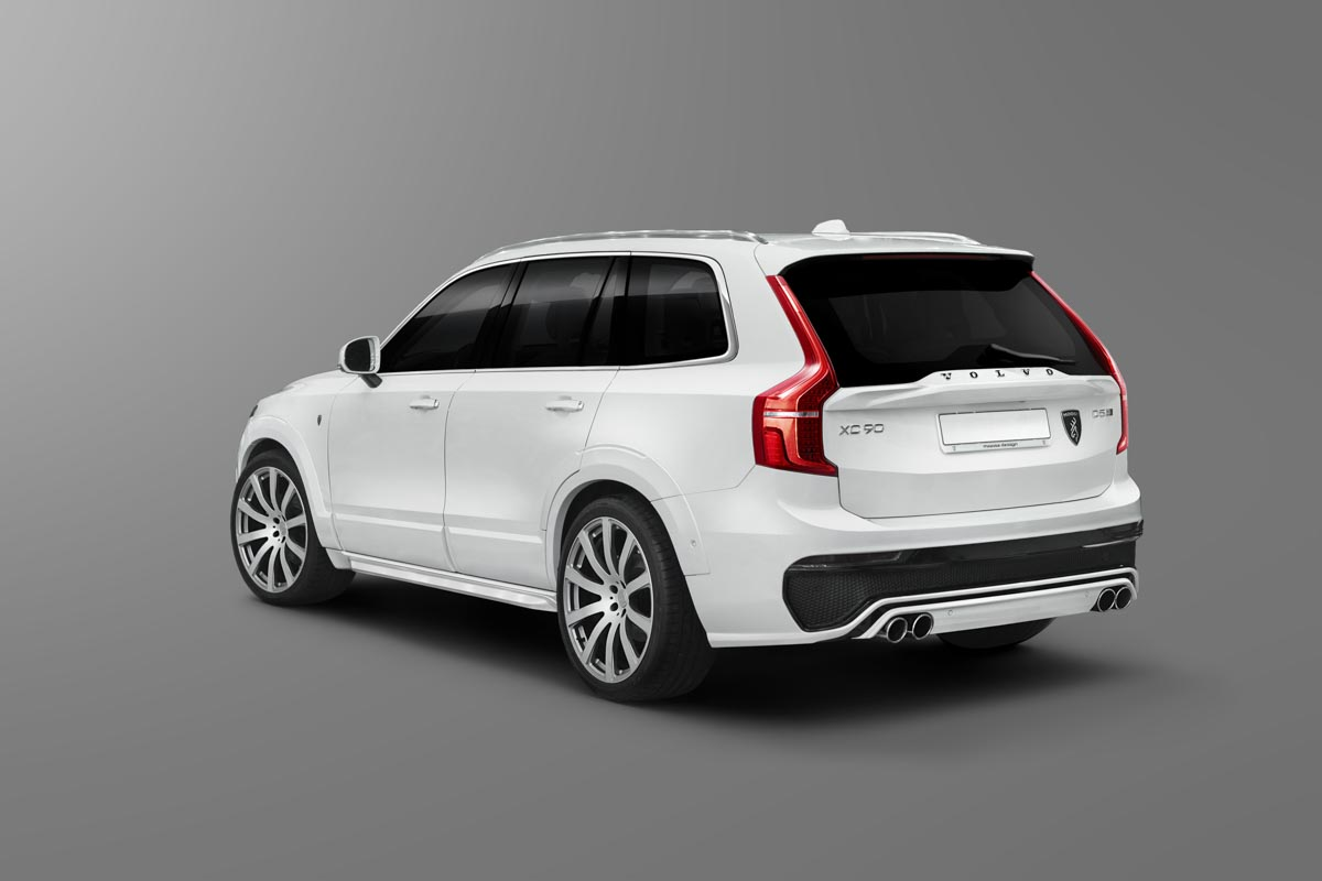 9111 Спойлер Moose Design ABS на Volvo XC90 II