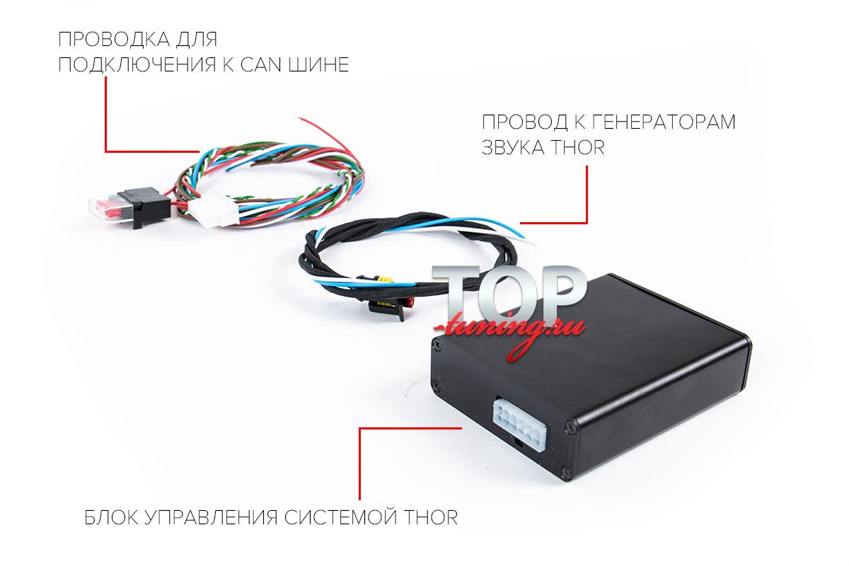 ГЕНЕРАТОР ЗВУКА AMG V8 S63 4.0L ДЛЯ ВЫХЛОПНОЙ СИСТЕМЫ