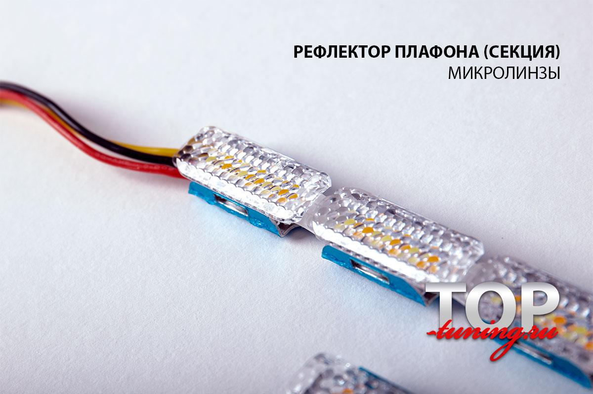 Плафон подсветки с микролинзами