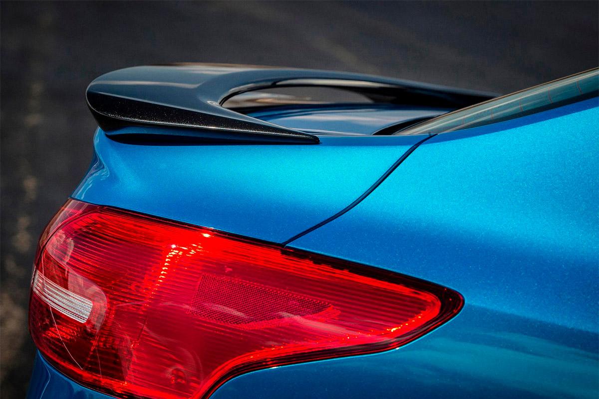 9166 Спойлер Titanium Sport на Ford Focus 3