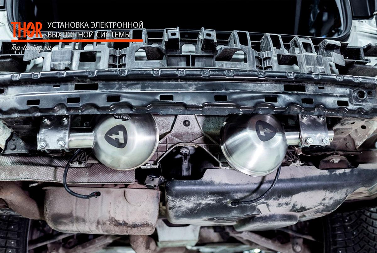 9379 Электронная выхлопная система THOR на Mercedes GLS