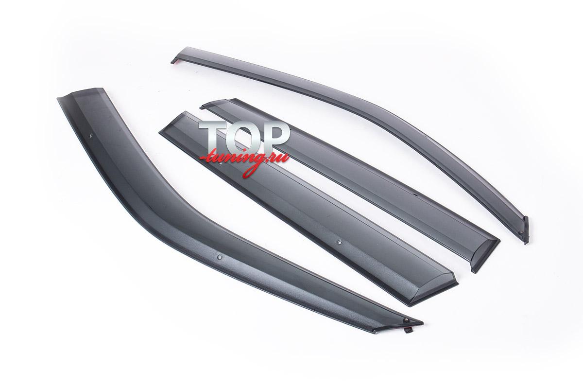 9384 Дефлекторы на окна на Subaru Forester SH