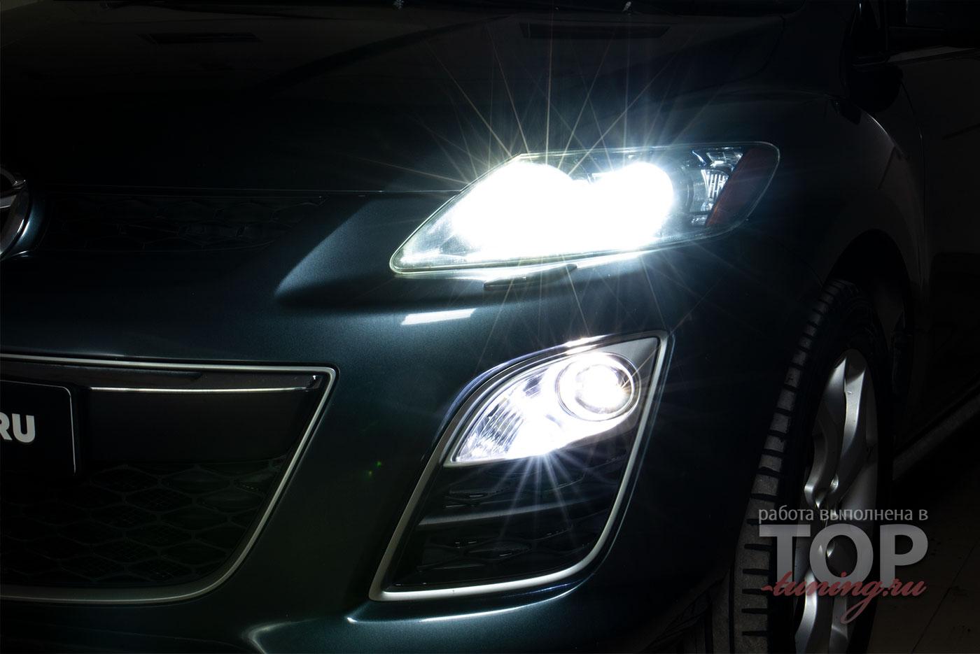 9557 Светодиодные ПТФ MTF Light для Mazda CX-7