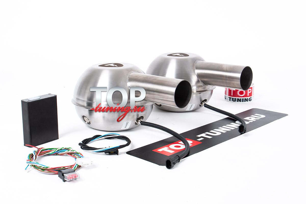 9591 Активный звук выхлопной системы THOR на Toyota Camry XV70