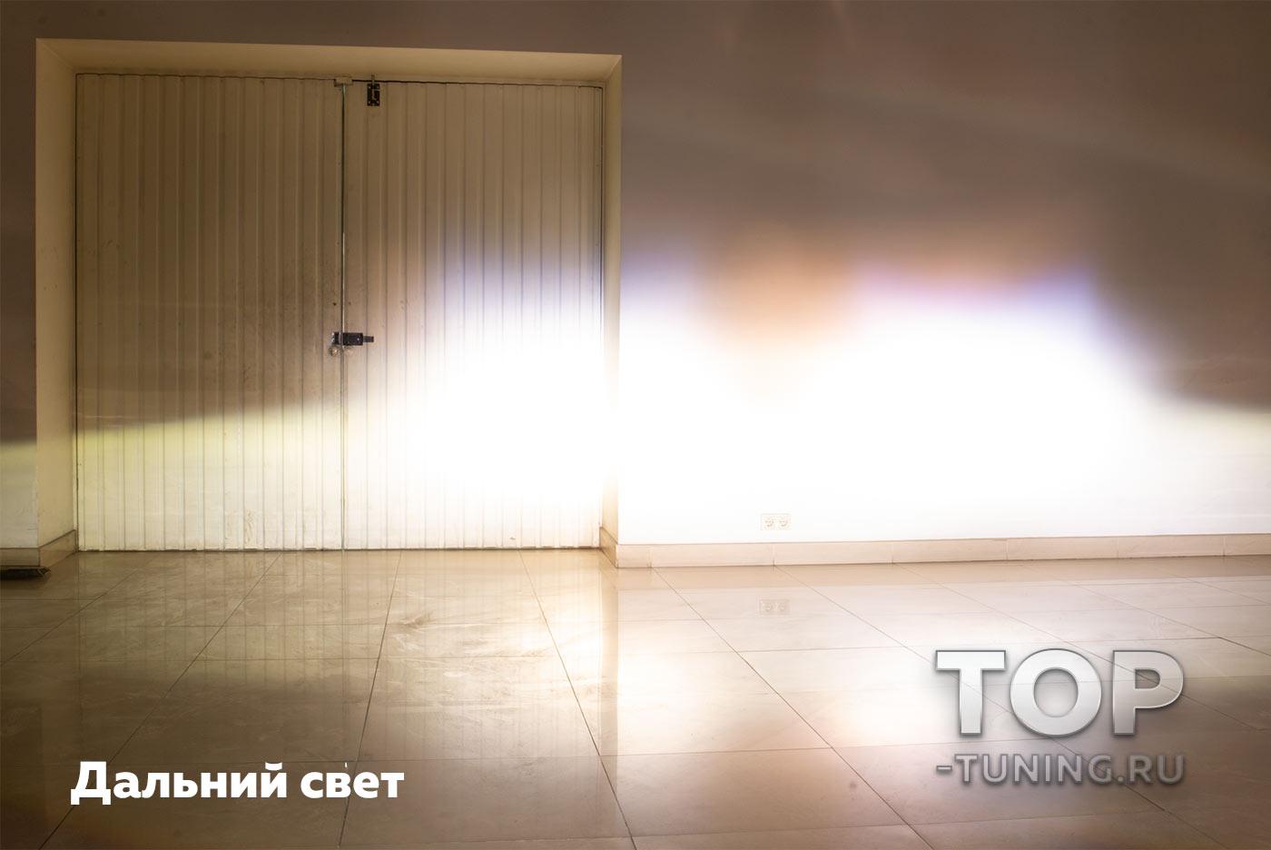 РЕТРОФИТ - УНИВЕРСАЛЬНЫЙ ТЮНИНГ ПЕРЕДНИХ ФАР СВЕТОДИОДНАЯ БИ-ЛИНЗА  3.0 ДЮЙМА (762 mm) КРУГЛАЯ - DIXEL GTR V2 - 4500K