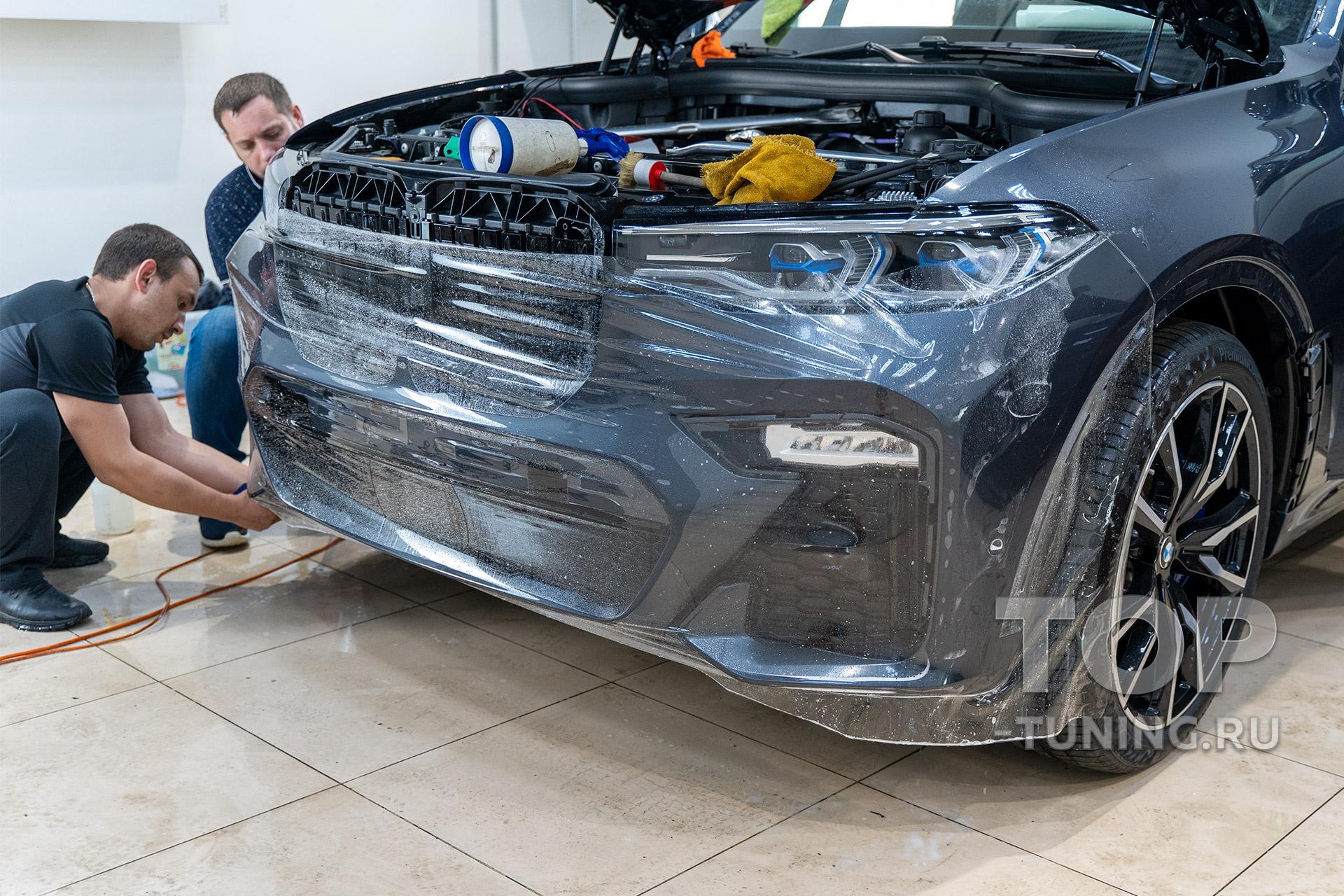 Полная защита кузова от повреждений. Антигравийный полиуретан с гарантией в Москве