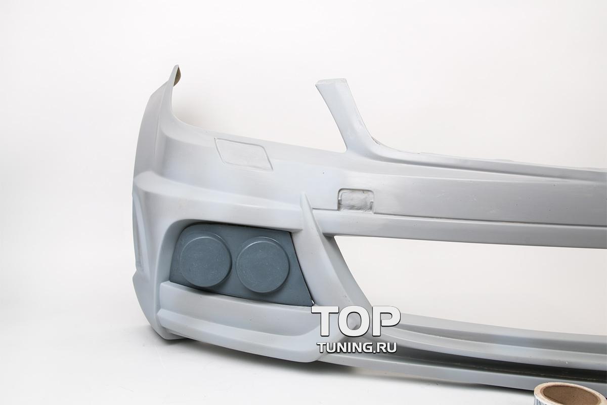 Передний бампер - Обвес WALD Black Bison Edition - Тюнинг Mercedes W204