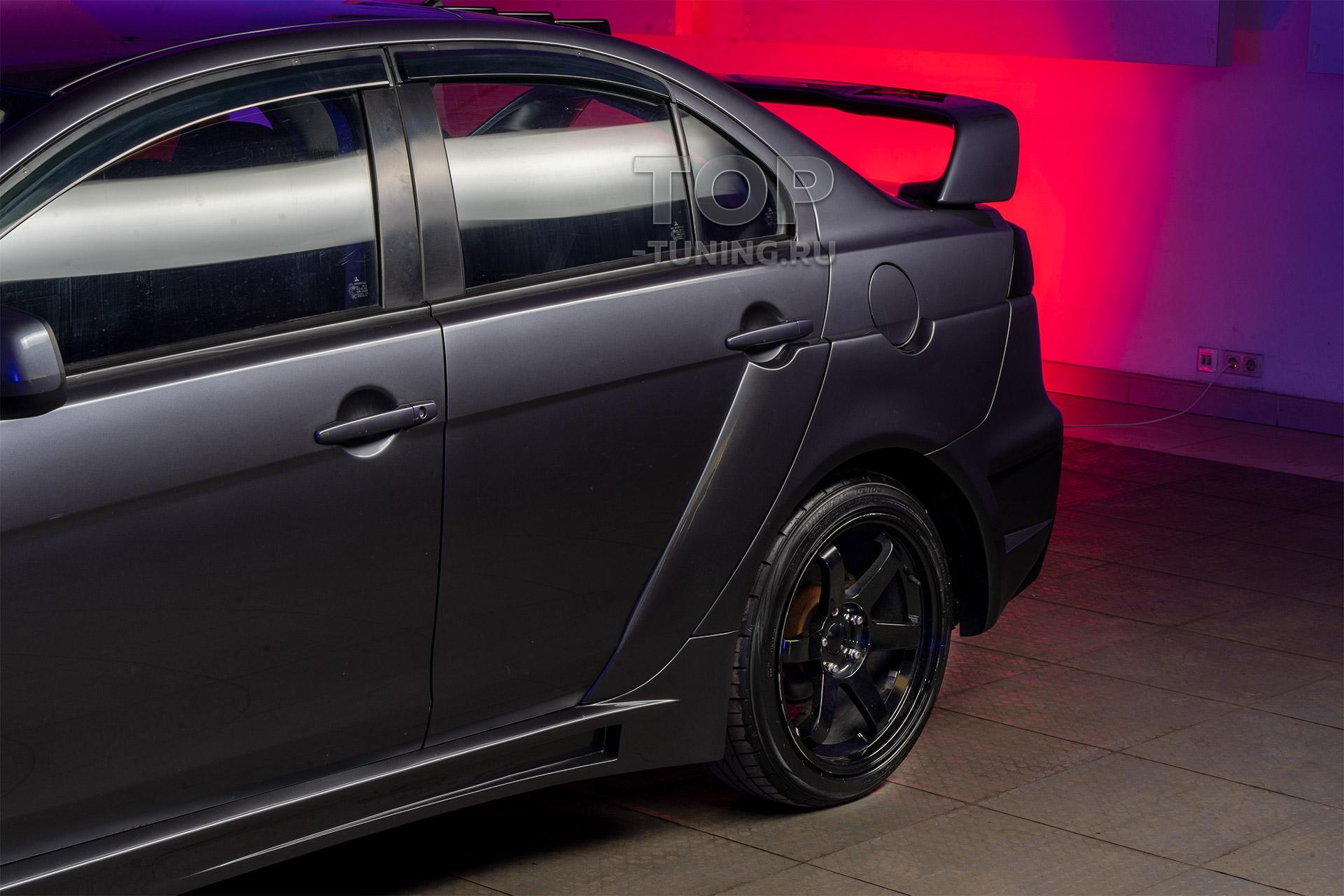 9880 Заднее расширение кузова Accolade GT400 для Mitsubishi Lancer 10