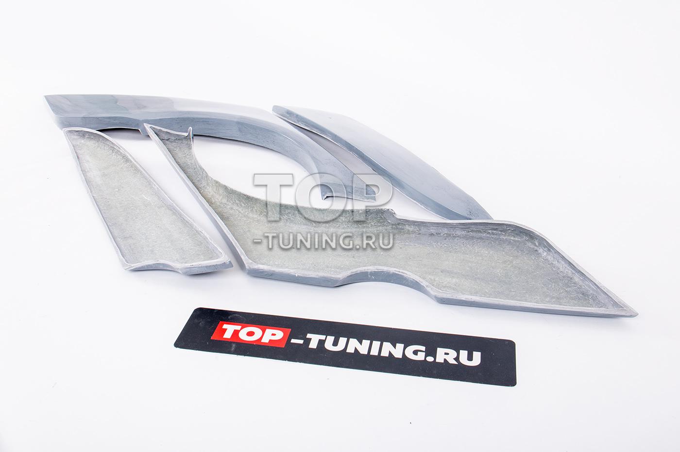 Расширители задних крыльев с переходом на двери - Тюнинг Лансер 10