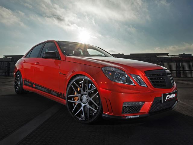 720-сильный Mercedes-Benz E63 AMG от PP-Performance и fostla.de
