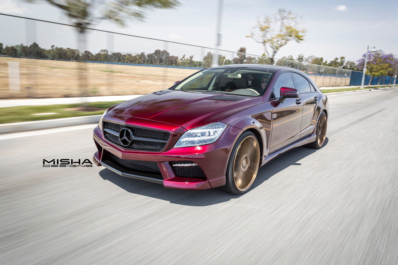Mercedes-Benz CLS от тюнинг-ателье Misha Designs