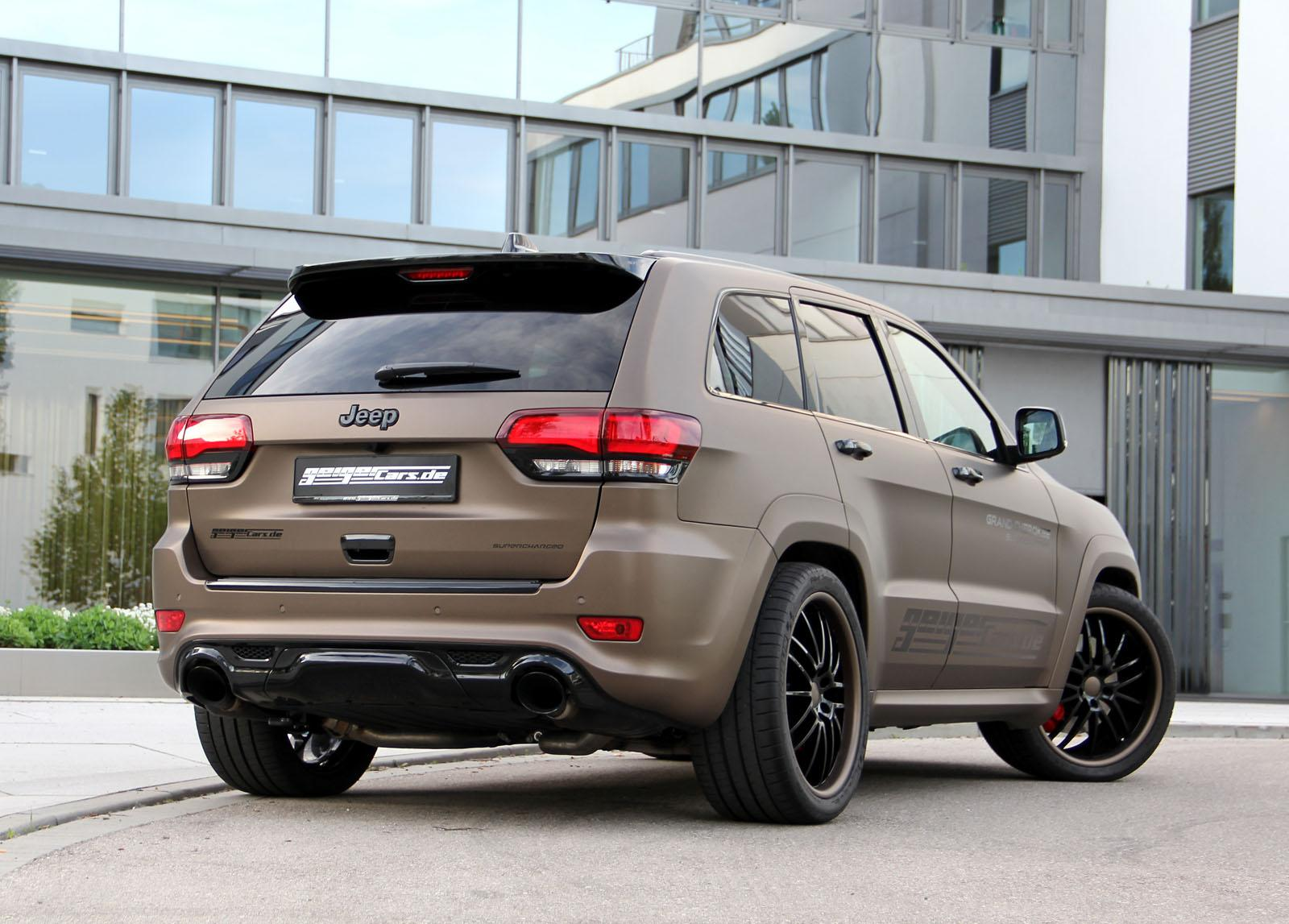 708-сильный Jeep Grand Cherokee SRT от GeigerCars