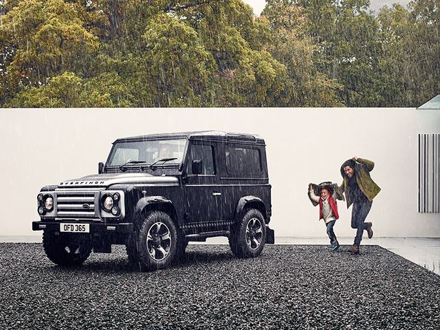 Новый Land Rover Defender будет похож на своего предшественника