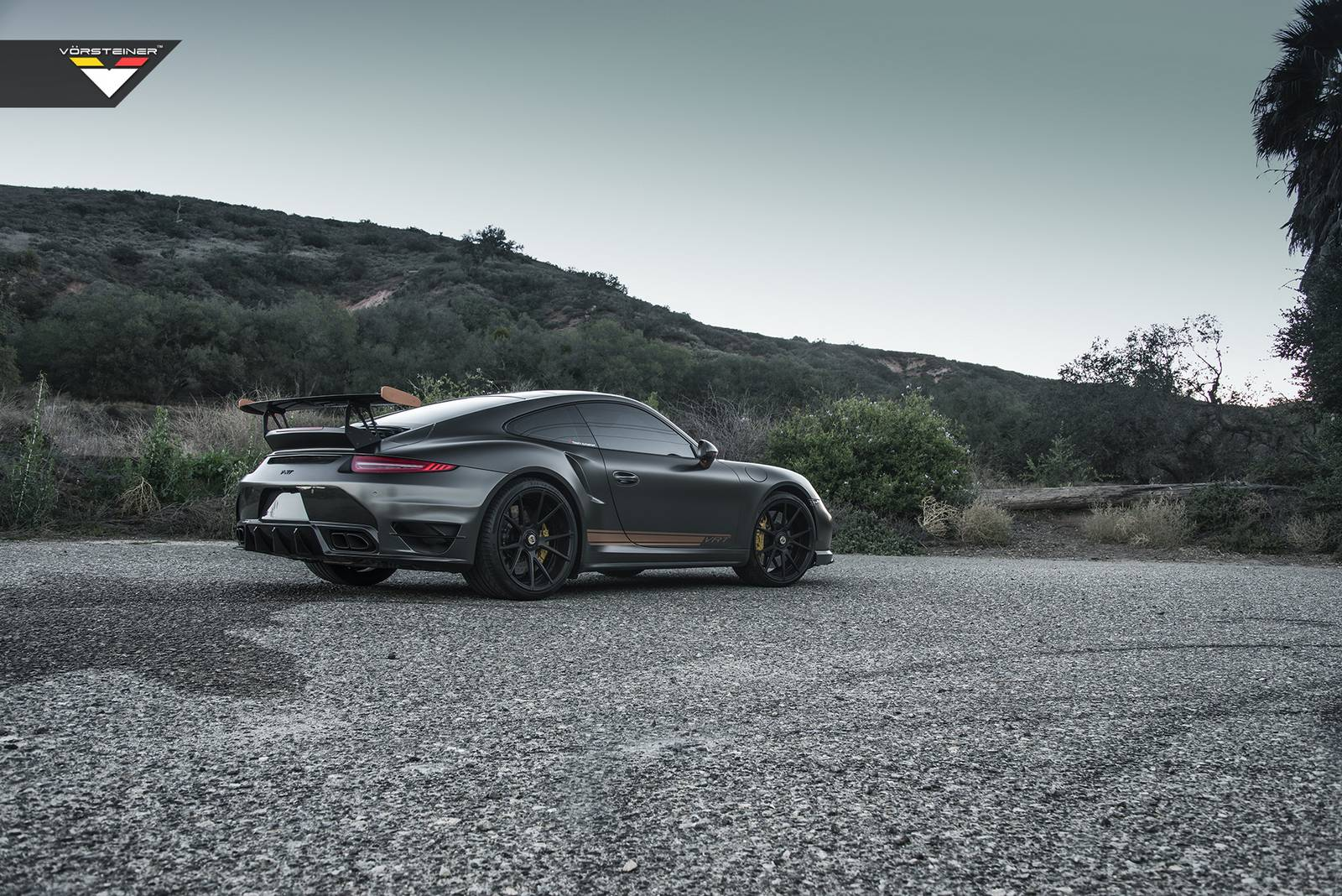 Vorsteiner представил V-RT Edition Porsche 911 Turbo S