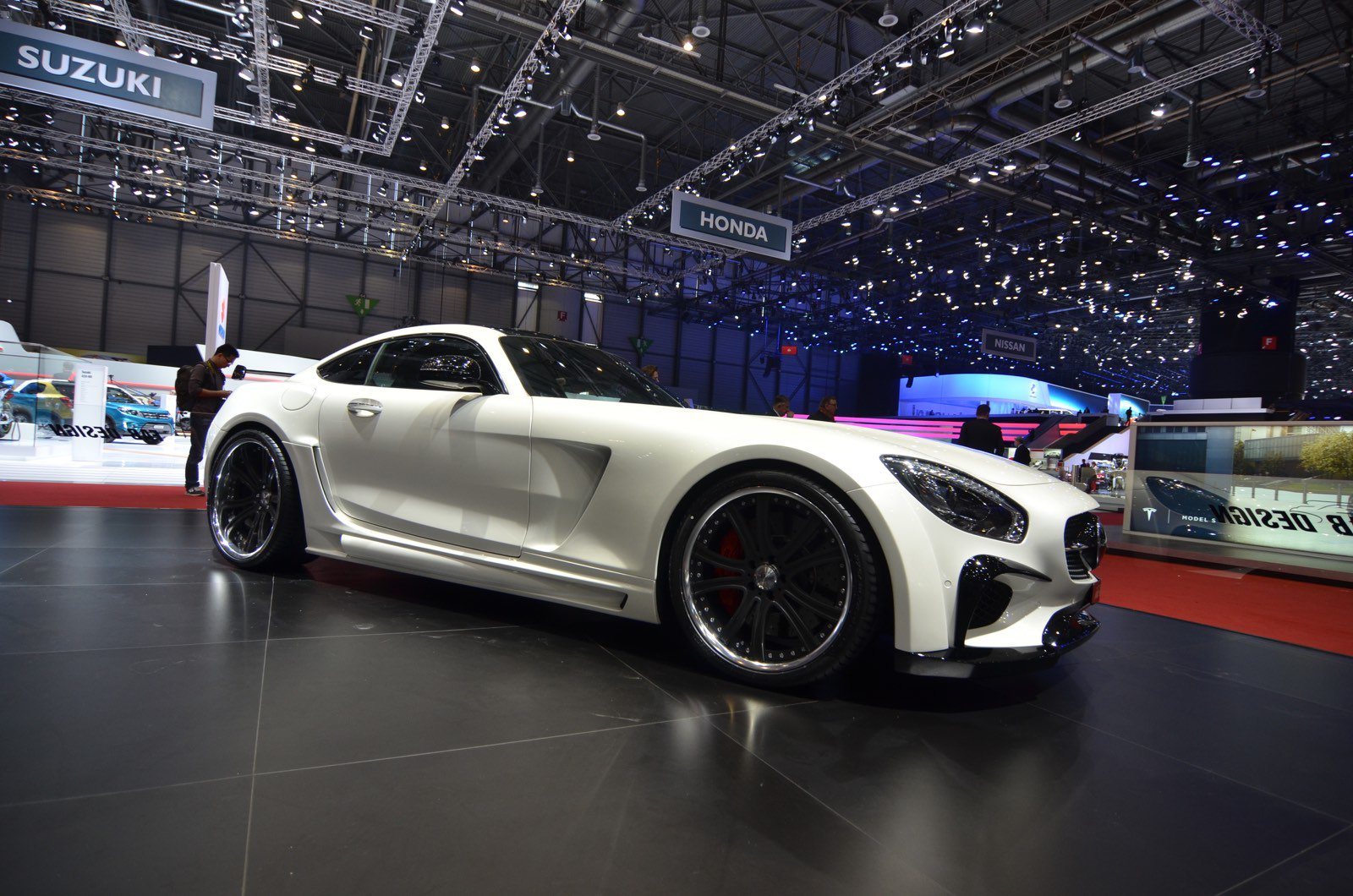 Женева 2016 - FAB Design Mercedes-AMG GT S Areion