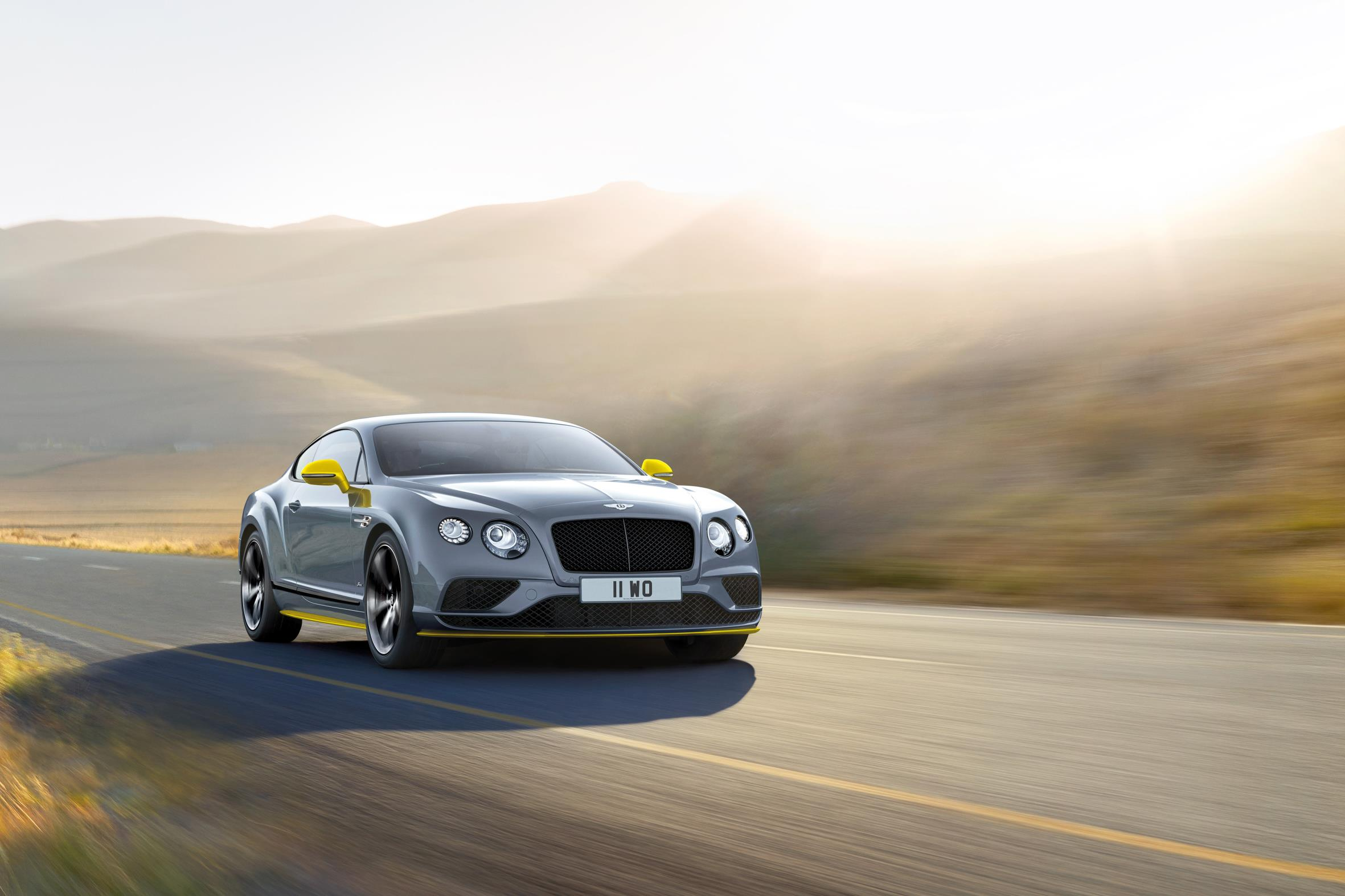 Bentley представил 2017 Continental GT Speed Black Edition