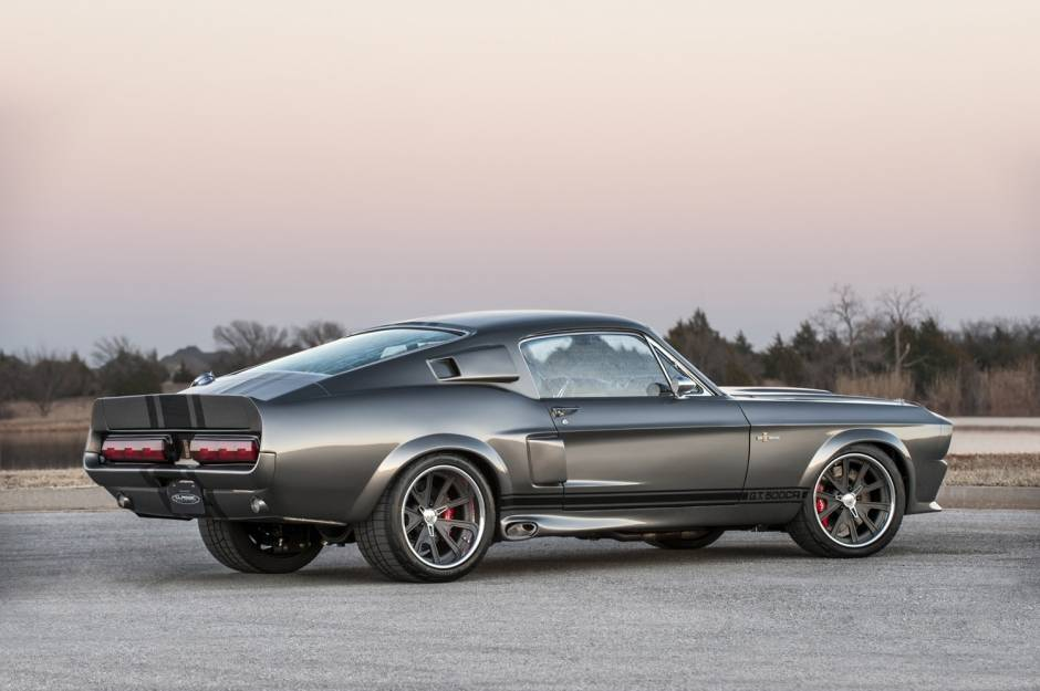 814 л.с. Shelby Mustang GT500CR от Classic Recreations