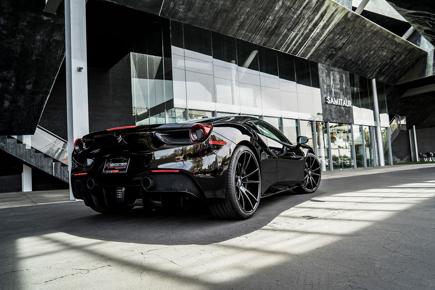 Ferrari 488 GTB на дисках Forgiato