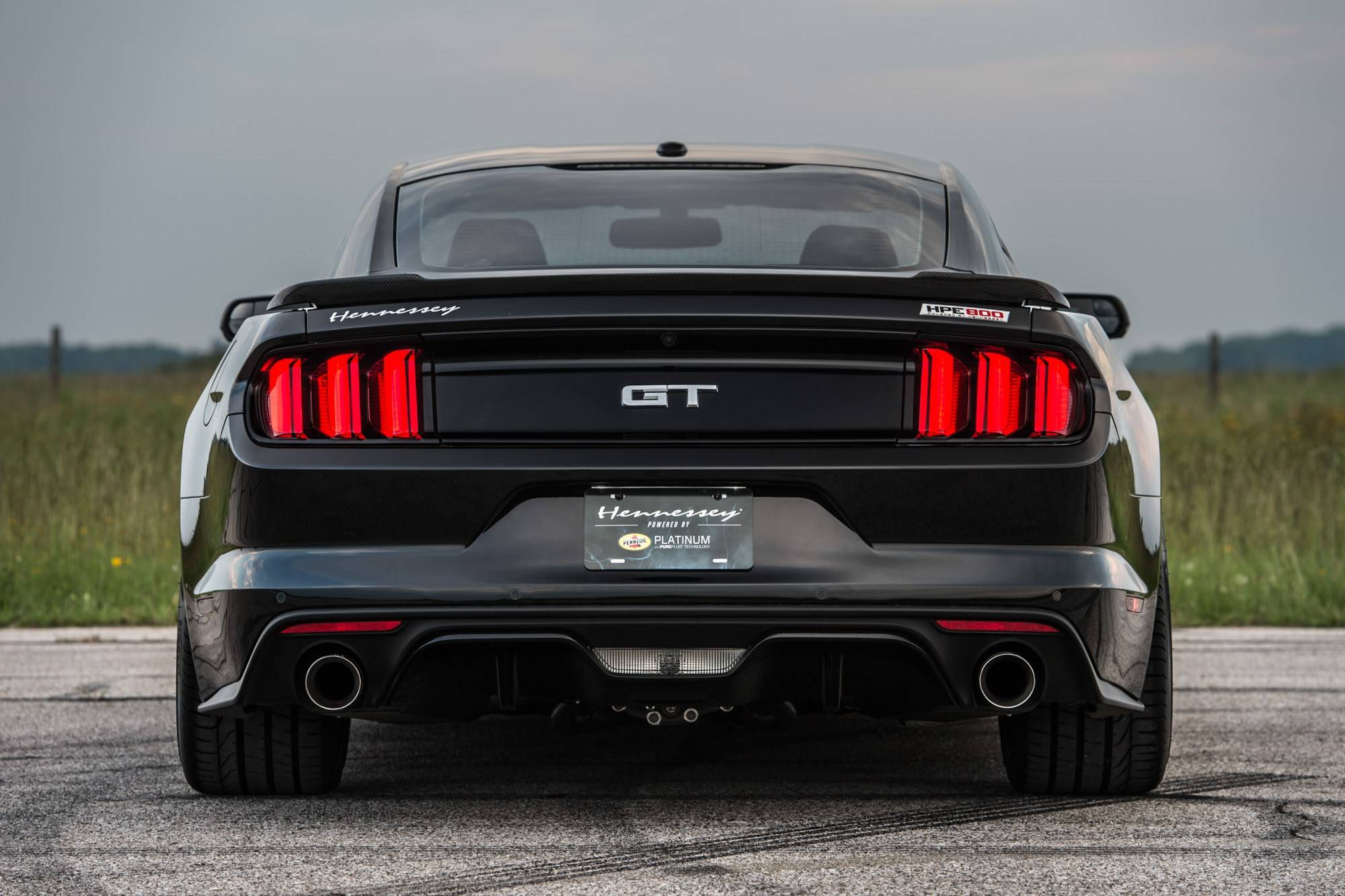 804 л.с. Hennessey HPE800 Ford Mustang - 25 Anniversary Edition