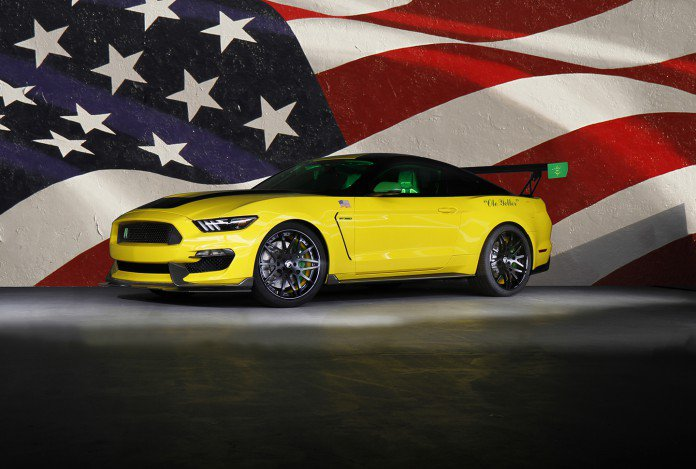 Ford представил Ole Yeller Mustang Shelby GT350