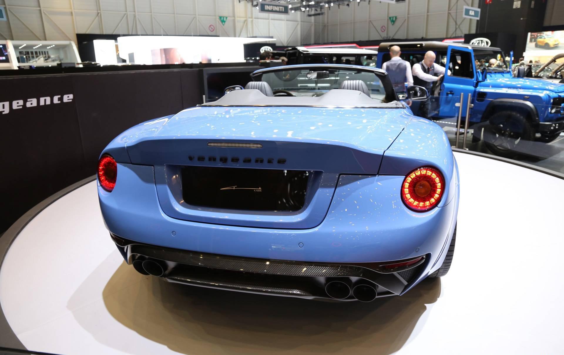 Его передняя, и особенно задняя части сильно отличаются от обычного Aston Martin DB9.