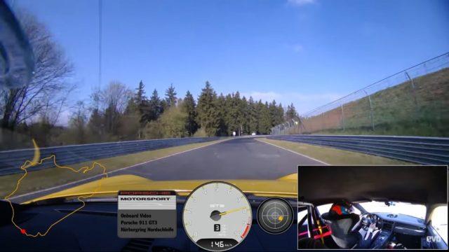 Новое поколение 991.2 GT3 побило время прохождения круга Nurschleife на Нюрбургринге, установленное его предшественником, на 12.3 секунды!