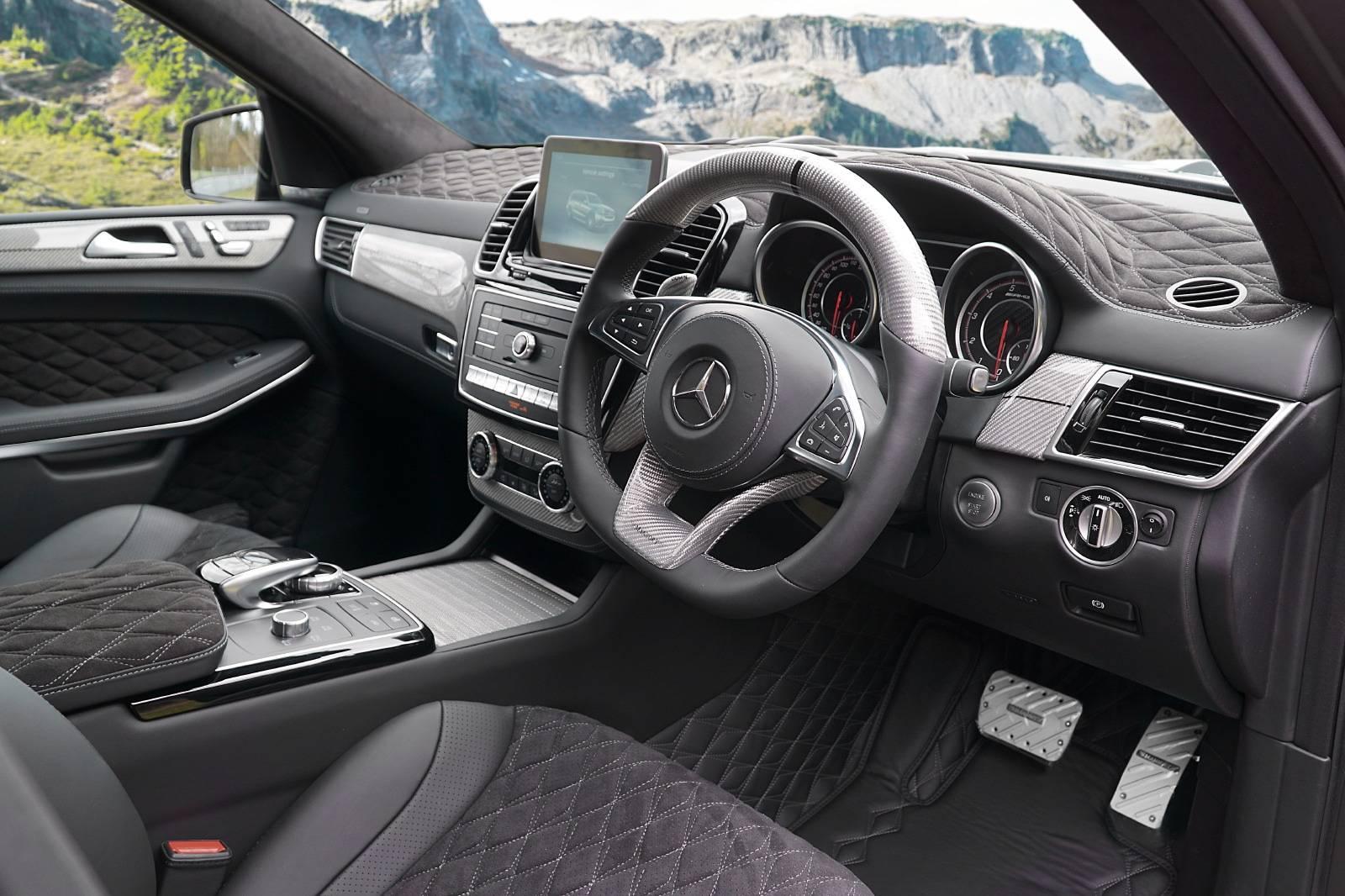 До сих пор GLS 63 был одним из немногих вариантов Benz, у которых пока нет комплекта от баварского тюнера.