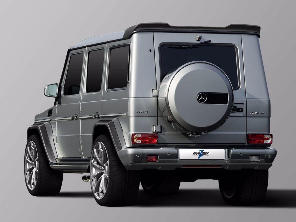 RevoZport только что выпустил свой последний пакет настроек для легендарных моделей Mercedes-Benz G-Class AMG.