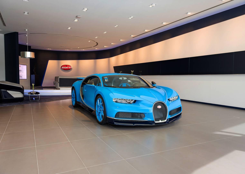 Было много причин инвестировать в флагманский салон – поступило 30 заказов на новый Bugatti Chiron, а также Bugatti UAE является самым успешным представительством бренда.