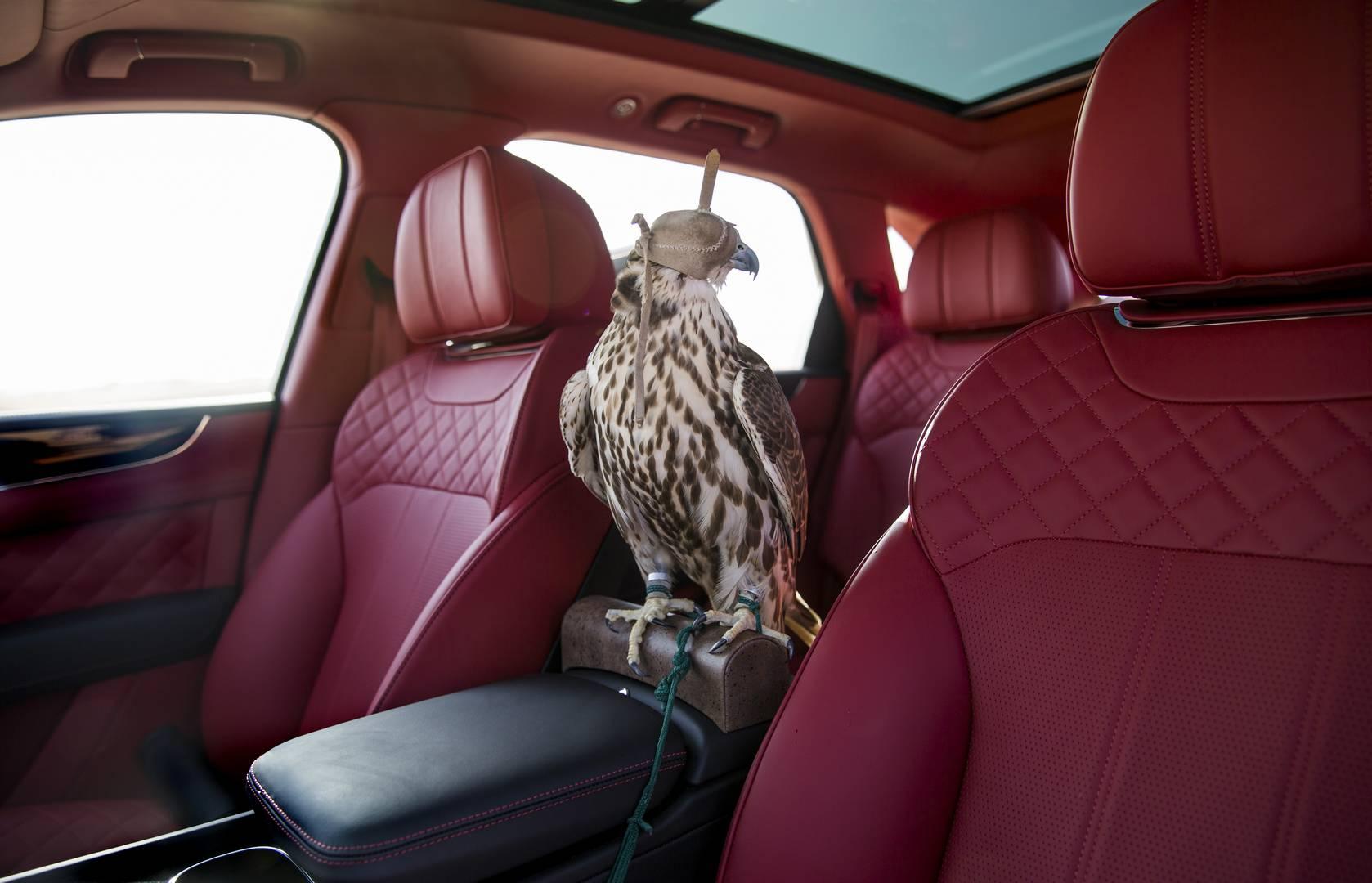 Bentley представил Bentayga Falconry, созданный на собственном подразделении бренда Mulliner.
