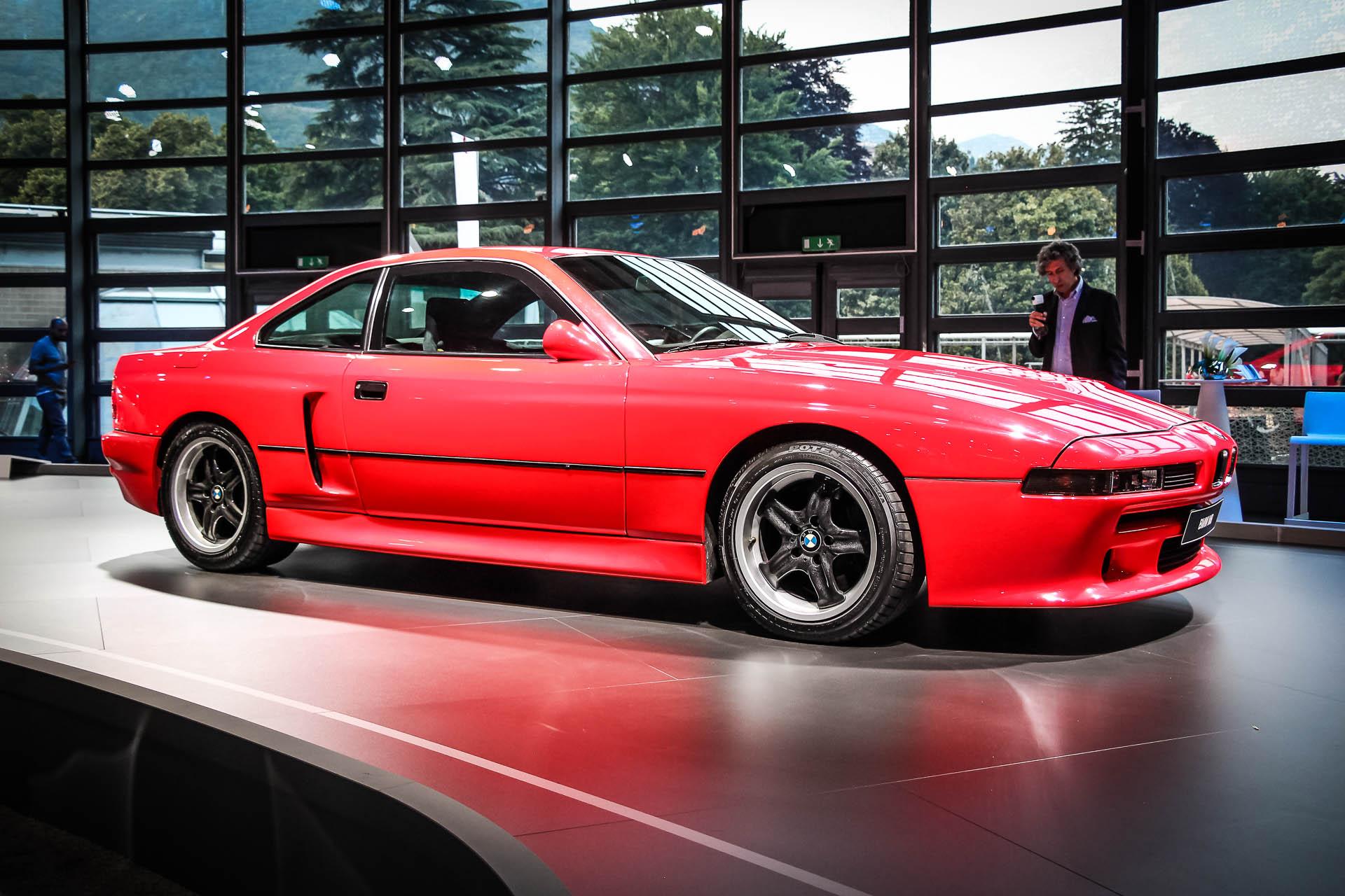 BMW Concept 8 Series основан на платформе новой 5 Series.