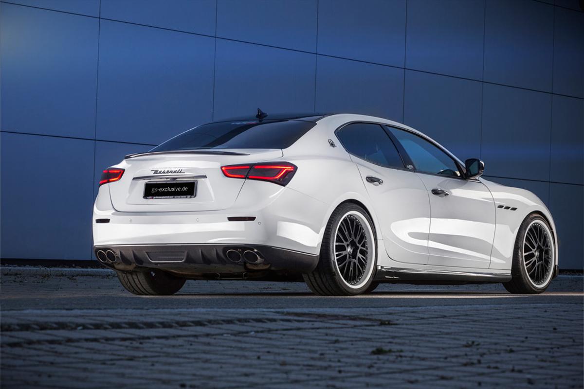 Немецкая компания G&S Exclusive только что представила свой модифицированный Maserati Ghibli.