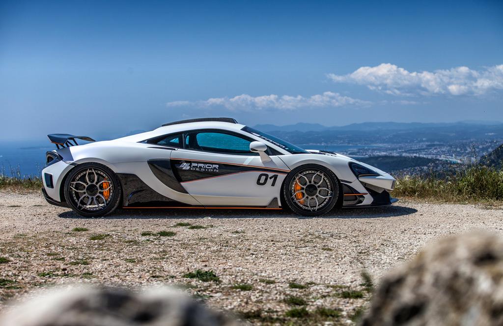 Среди дизайнерских обновлений для ряда других автомобилей специалисты по тюнингу и стайлингу  Prior Design недавно представили свой комплект расширения кузова PD1 для McLaren 570S.
