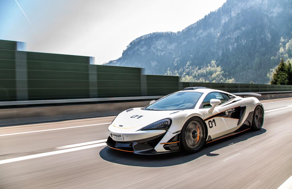 Prior Design представил McLaren 570S