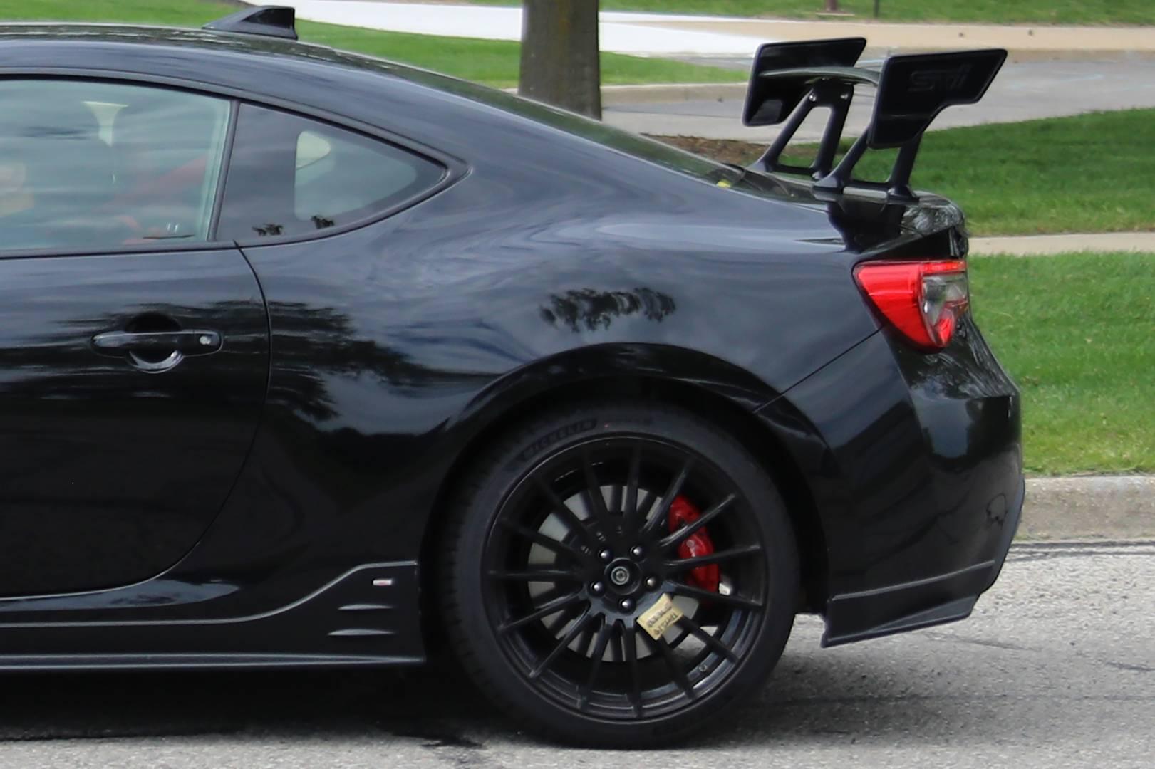 Недавно прошли новые тестирования Subaru BRZ STI в Энн-Харборе.